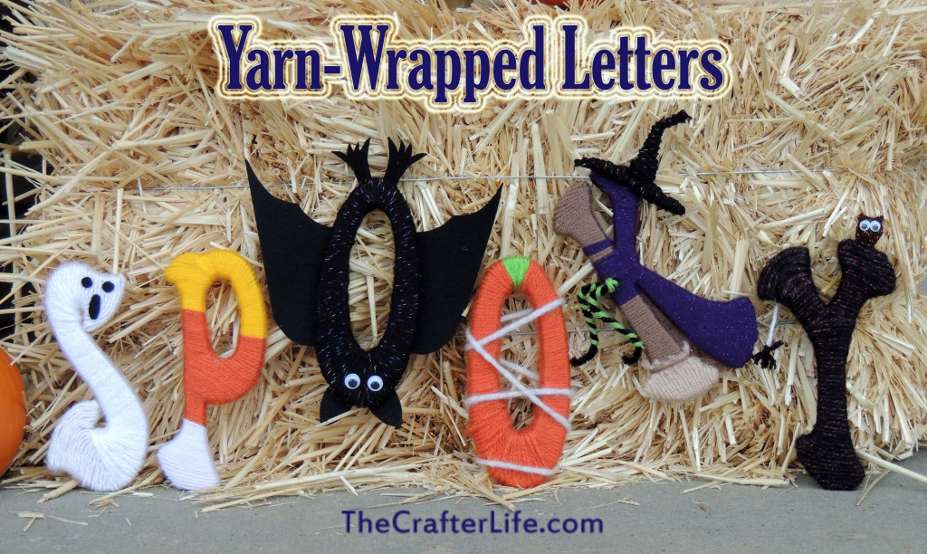 Yarn Wrapped Letters