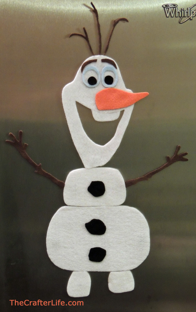 Magnetic Felt Olaf Activity