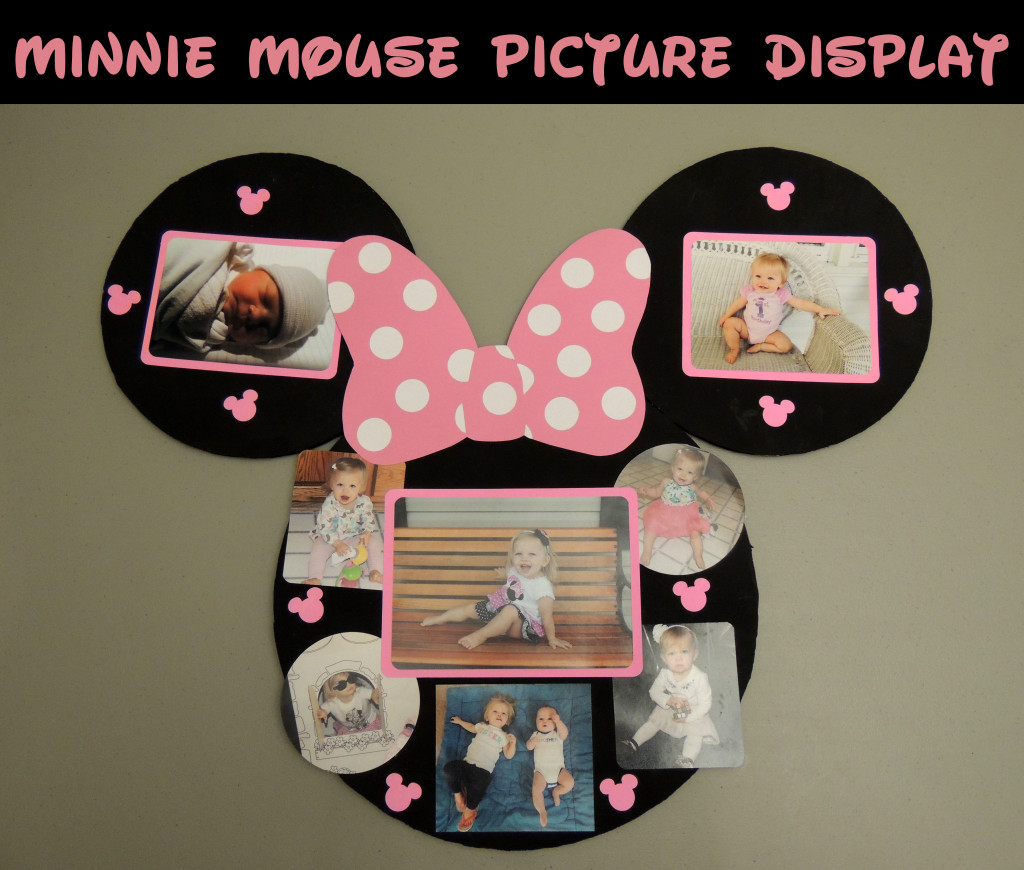 Minnie Mouse Picture Display The Crafter Life