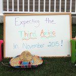 Pregnancy Announcement for Three!