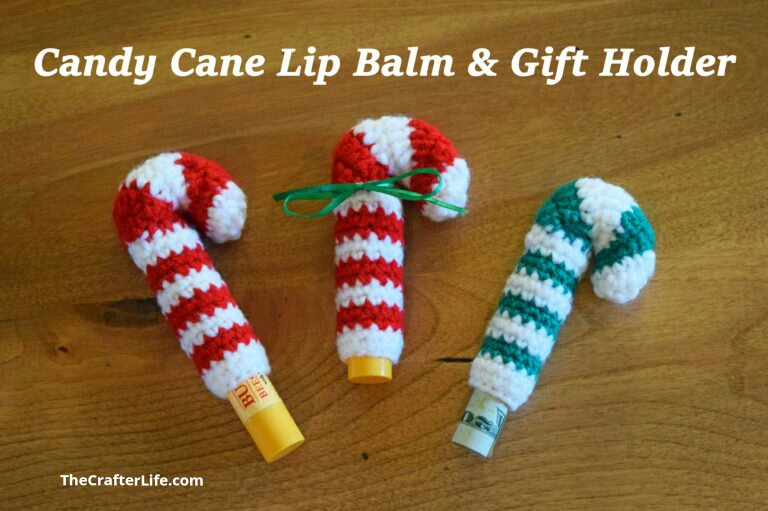 Candy Cane Lip Balm Gift Holder The Crafter Life